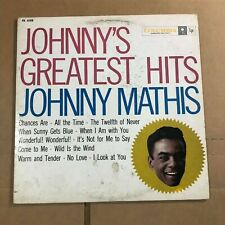 New listing Johnny Mathis - Johnny's Greatest Hits CL 1133 VG+ Vinyl LP N25