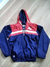 Lonsdale Retro Jacket Red White Blue Size Small