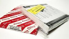 Genuine TOYOTA Cabin Charcoal Air Filter 87139-07010 87139-0E040 87139-58010 OEM