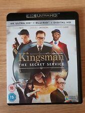 Kingsman The Secret Service (4K Ultra HD, Blu Ray and Digital Download)