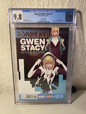 Edge of Spider-Verse 2 2nd print CGC 9.8 1st Spider Gwen Ghost Spider Low print