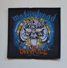 MOTORHEAD - Overkill - Patch - 10,3 cm x 10 cm - 164492