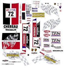 #72 Larbre Competion Porsche Gt2 1998 1/32nd Scale Slot Car Waterslide Decals