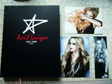 Avril Lavigne Photo Album Book + Cards China Chinese 2013 Book A lot of photos