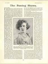 1922 MISS MARILYN Miller ORIGINALE Sally Dick Turpin il liquore preferito