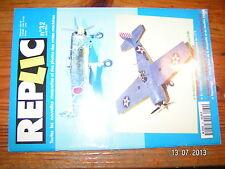 (:) Revue Replic n°32 F4F-4 Wildcat Bf 109 G-6 Nakajima Ki43