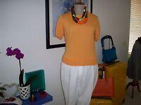 Gant Bluse Pullover orange Gr. M NEU mit Etikett
