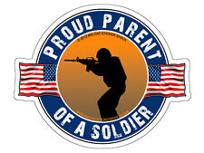 Proud Parent of a Soldier (Bumper Sticker)