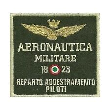 [Patch] AERONAUTICA MILITARE REPARTO ADDESTRAMENTO PILOTI verde cm 8 x 7,5 -305