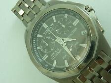 Tissot Titanium Strap Wristwatches with Chronograph