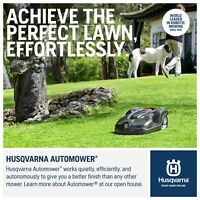 2019 Model 315X HUSQVARNA AUTOMOWER WITH FREE $500 HOUSE Cover + INSTALL KIT