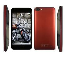 "4G,Smartphone,Android,6.0,Unlocked,5"",DualSim,QualCore,1GBRAM +8GB Memory ,RED"