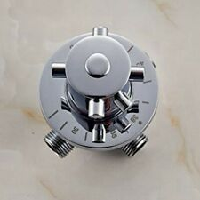 Wall Mount Brass Thermostatic Mixing Valve for Bathroom Shower Head Top Spray