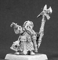 1x GILAM RUNE SPELUNKER - WARLORD REAPER miniature rpg jdr nain dwarf 14467