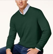 Club Room Merino Performance Men's V-Neck Long Sleeve Sweater,Ivy League, S  $75