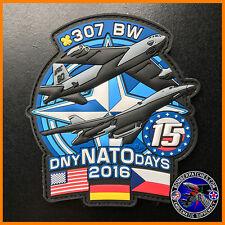 307th Bomb Wing NATO Days 2016 PVC Patch, B-52 B-1B, Barksdale & Dyess LIMITED