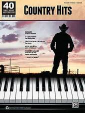 NEW 40 Sheet Music Bestsellers Country Hits PVG by Hal Leonard Corp.