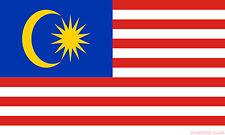 MALAYSIA FLAG 3X2 feet 90cm x 60cm FLAGS MALAYSIAN