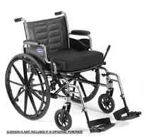 Invacare  Tracer IV - Exra Wide 22 inch Seat -  Wheelchair Elevating Legrest