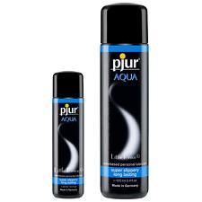 Lubrifiant Pjur Aqua Gel intime anal vaginal 30,100 ml