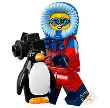 LEGO MINIFIGURES SERIE 16 MINIFIGURA WILDLIFE PHOTOGRAPHER 71013 ORIGINAL MINIFG