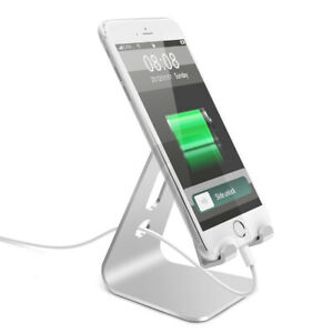 Universal Aluminium Stand Desk Holder For iPhone Xiaomi Metal Tablets Stand