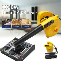 220V 1050W Electric Handheld Air Blower For PC Garden Leaf Vacuum Dust   @