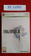 FINAL FANTASY 13 XIII COLLECTOR XBOX 360 NEUF SOUS BLISTER VERSION FRANCAISE