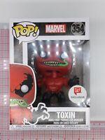 Funko POP! Marvel TOXIN #354 Spider-Man Bobble-Head Vinyl Figure H04