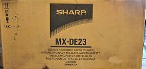 Sharp MX-DE23 Stand and Drawers BRAND NEW in BOX MX-2600N 3100N 4100N
