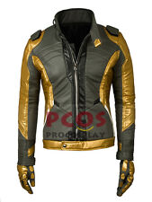 Gold Version~ Soldier 76 Cosplay Costume Jacket / Coat & Glove mp003326