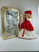 """Rare Vintage '89 Rennoc Becky Stermen 24"""" Animated Christmas Caroler Girl Figure"""