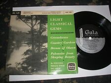 LIGHT CLASSICAL GEMS 4 TRACK EP GREENSLEEVES/COUNTRY GARDENS ETC GALA 45XP1066