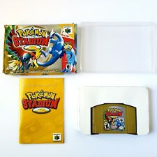 Pokemon Stadium 2 (Nintendo 64, 2001) Authentic Near Mint Cart Complete Tested