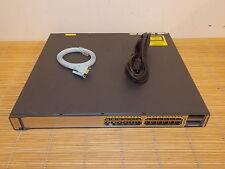 Cisco Catalyst WS-C3750E-24PD-E 24 10/100/1000 PoE 2x X2 SWITCH
