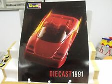 1991 REVELL DIECAST,12 PAGE CATALOG,1:18 & 1:24 SCALE, CARS, AIRPLANES.EXC COND