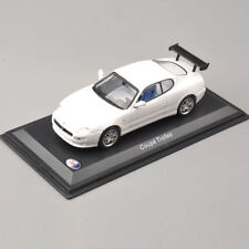 MASERATI COUPE TROFEO Car Model Die Cast Metal Models Miniature Toy White
