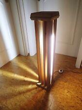 Stehlampe Standlampe LED massiv Holz Geschenk Weihnachten