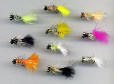 Snake Fly Light Olive Yellow Assassin x 3 UK Tied size 8 code 505 Trout Flies