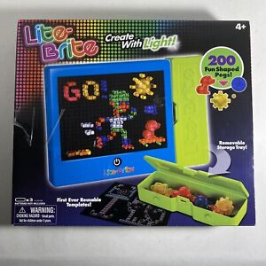 Hasbro Lite Brite With Templates & Removable Trays