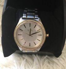 Armani Exchange AX5446 Nicolette Watch Two-Tone NEW