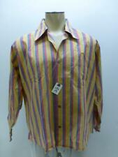 New Vtg Deadstock Chartwell p press long sleeve b/u big collar Shirt mens sz XL