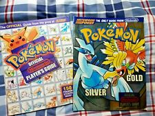 Pokemon Blue Red Silver Gold 2 Official Strategy Guides Nintendo Power Gameboy!