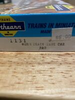 HO Scale Athearn 1131 Burlington 40' Work Train Tank Car Baltimore & Ohio # X417