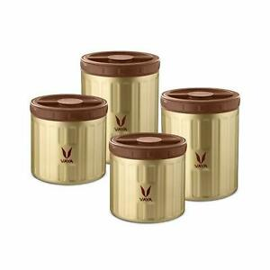 Vacuum Insulated Stainless Steel Food Storage Container Set, Hot Serve