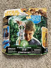 Star Wars Force Link 2.0 Starter Set + Han Solo Figure Bluetooth Technology READ