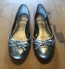 ASH Gold leather ballet flats, Eur size 38