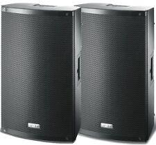 FBT XLITE 12A Coppia Casse Amplificate Attive Diffusori Audio 1000 + 1000 Watt!