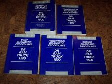2002 Dodge Ram Truck 1500 Shop Service Repair Manual Set ST SLT 4.7L 5.9L