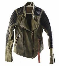 BLANKNYC Girls Holy Guacamole Moto Jacket Size Small 7/8 Retails $98 New